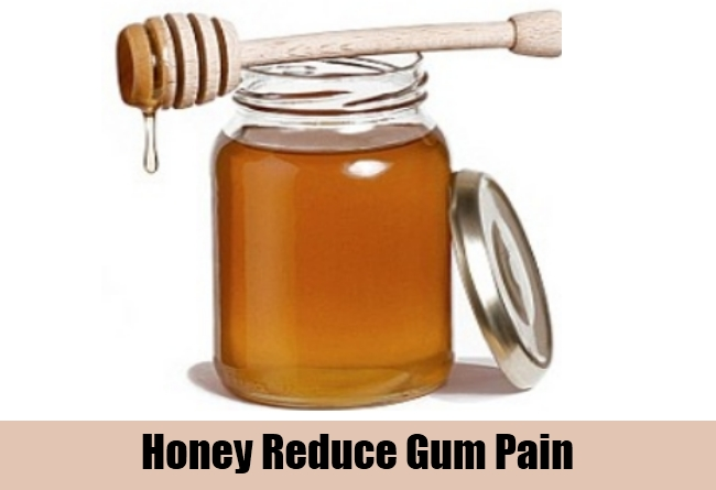 Honey Reduce Gum Pain