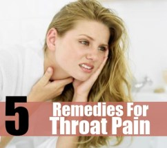 5 Effective Home Remedies For Throat Pain