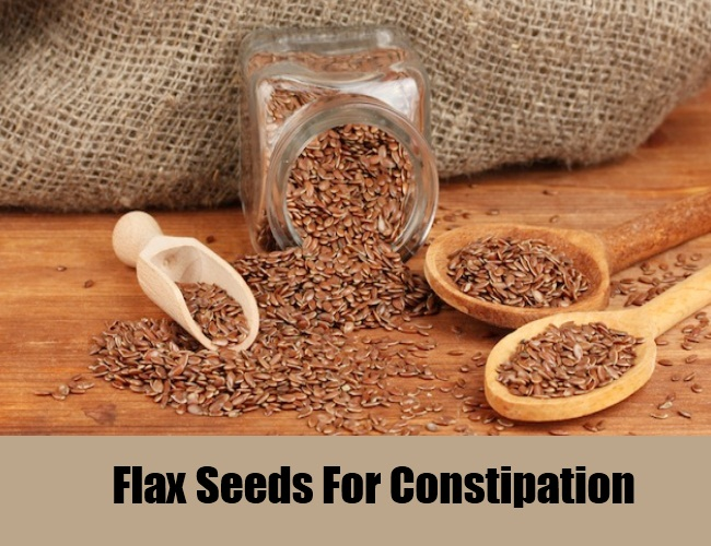 Flax Seeds For Constipation