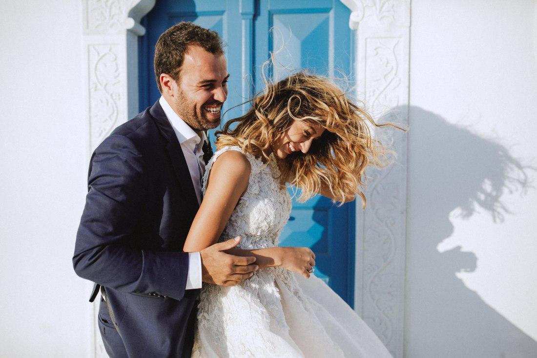 wedding film santorini
