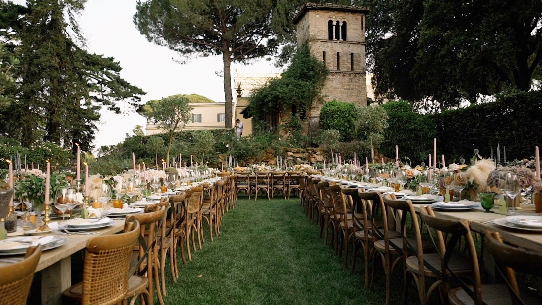 rome luxury wedding filmmaker