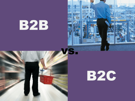 Difference between B2B (Business-to-Business) and B2C (Business-to-Consumer) lead acquisition sales strategies