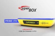 atualização Superbox Prime Itv