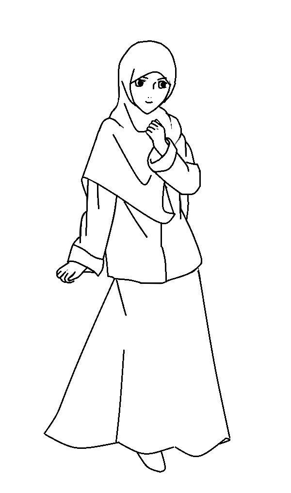Gambar Kartun Anak Perempuan Muslimah Auto Electrical Wiring Diagram