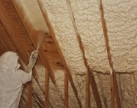 Spray Foam Ceiling Insulation | Taraba Home Review