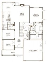 Elegant Richmond American Homes Floor Plans - New Home ...