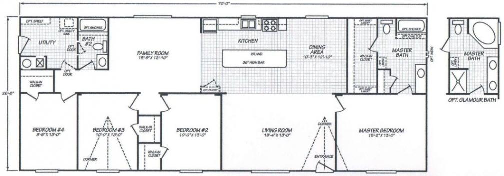 2002 fleetwood manufactured home floor plans