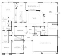 Floor Plans for Single Level Homes New Floorplan 2 3 4 ...
