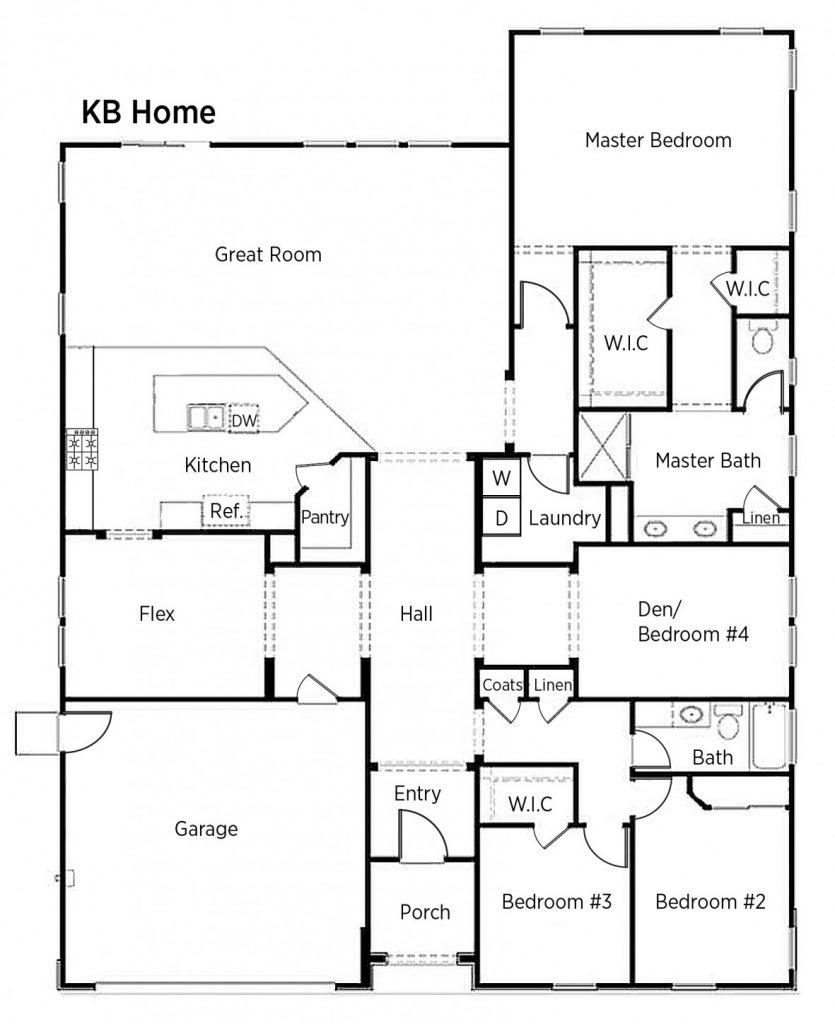 Luxury Kb Homes Floor Plans New Home Plans Design