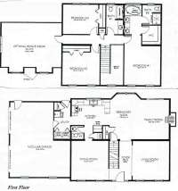 3 Bedroom 2 Storey House Plans Lovely 2 Story House Plans ...