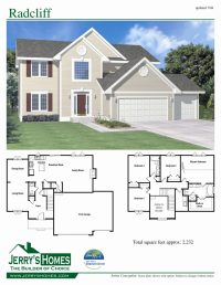 Luxury 4 Bedroom 2 Story House Floor Plans - New Home ...