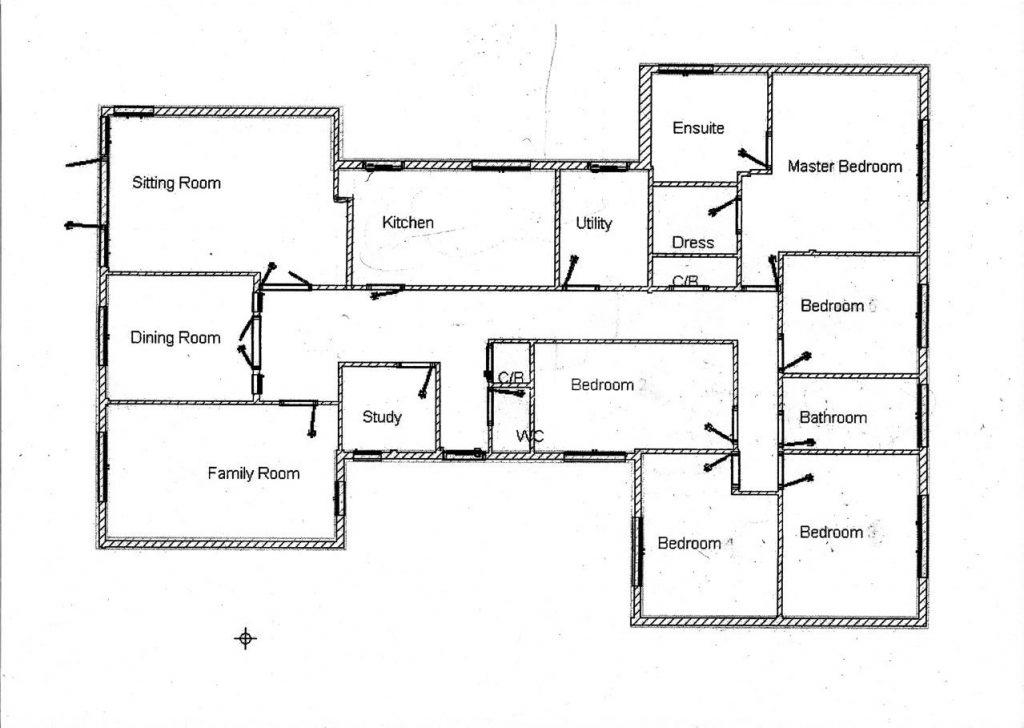 Luxury 5 Bedroom Bungalow House Plans