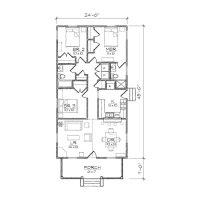 5 Bedroom House Plans Narrow Lot Inspirational Narrow ...