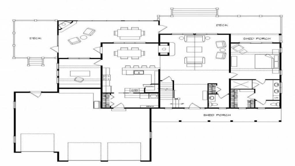 Lovely Lake House Floor Plans With Walkout Basement New