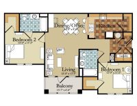 Beautiful Luxury Two Bedroom House Plans
