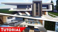 Minecraft Modern House Plans Luxury Minecraft Modern House ...