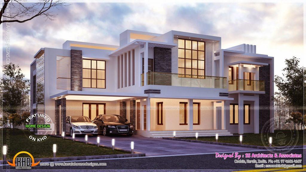 modern house plans 4000 square feet