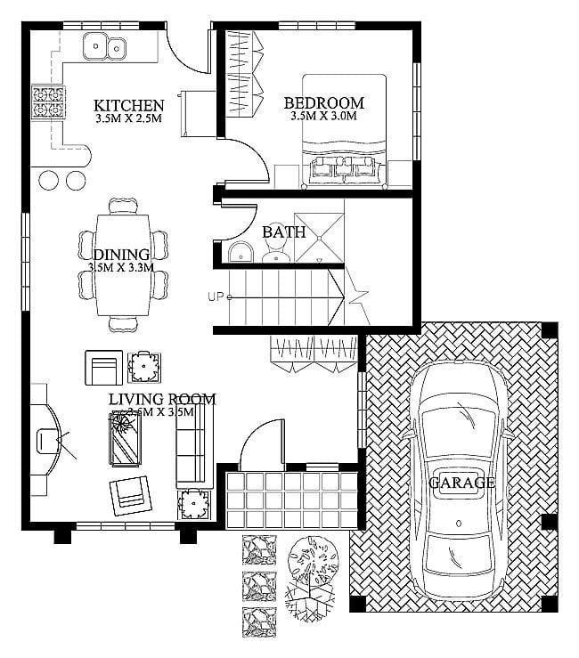 beautiful modern small house plans and designs new home plans design small modern house