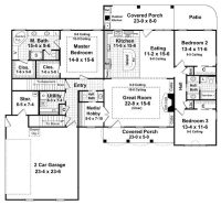 One Level House Plans with No Basement Beautiful Stylist ...