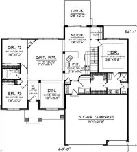 One Level House Plans with No Basement Inspirational E ...