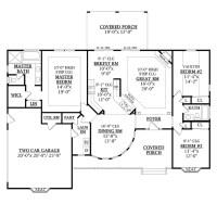 One Level House Plans with No Basement Unique E Level ...