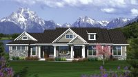 One Level Ranch Style House Plans New Ranch Home Plans ...
