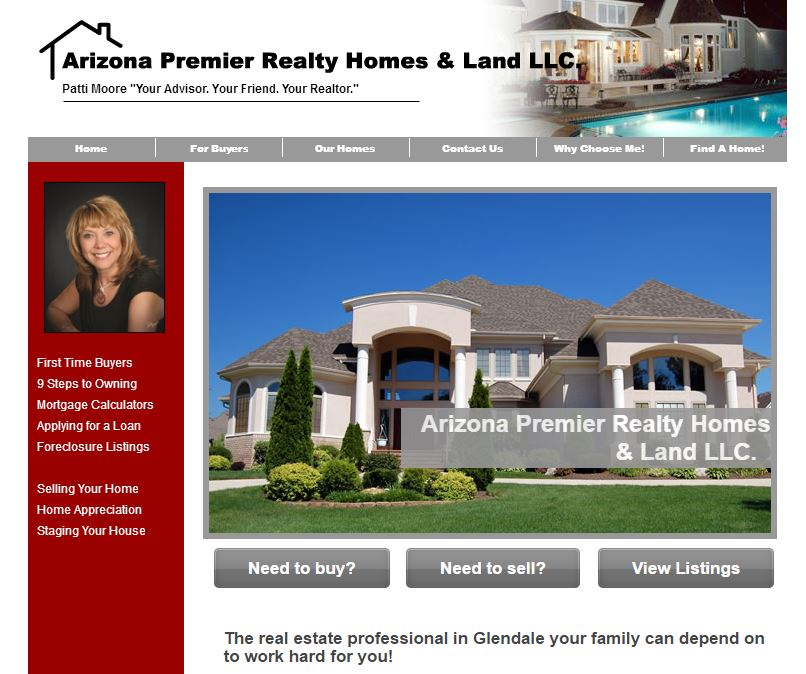 Glendale AZ real estate listings and homes for sale, home buying