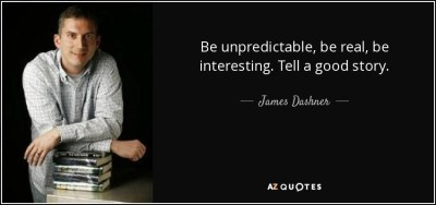 TOP 25 QUOTES BY JAMES DASHNER (of 120) | A-Z Quotes
