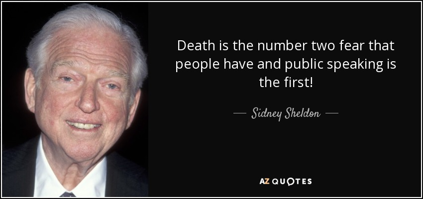 Sidney Sheldon quote Death is the number two fear that people have