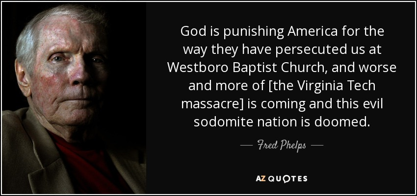 Michael Phelps Quote Wallpaper Fred Phelps Quote God Is Punishing America For The Way