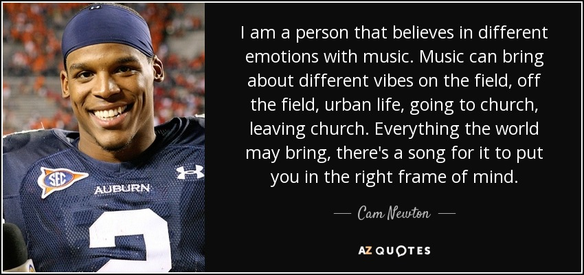Tom Brady Wallpaper Quote Cam Newton Quote I Am A Person That Believes In Different