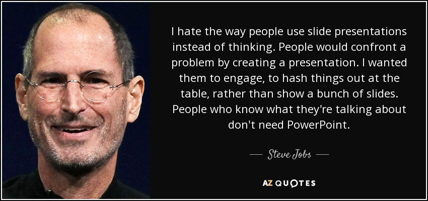 TOP 25 POWERPOINT QUOTES A-Z Quotes - quote on presentation