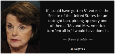 TOP 25 QUOTES BY DIANNE FEINSTEIN (of 62) | A-Z Quotes