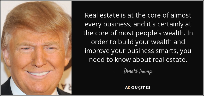 TOP 25 REAL PROPERTY QUOTES A-Z Quotes - real estate quotation