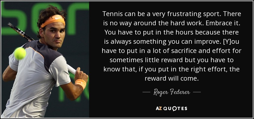 Facebook Wallpaper Quotes From Soccer Players Roger Federer Quote Tennis Can Be A Very Frustrating