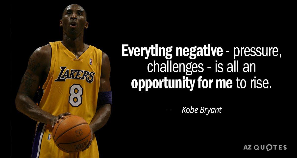 Allen Iverson Wallpaper Quote Kobe Bryant Quote Everyting Negative Pressure