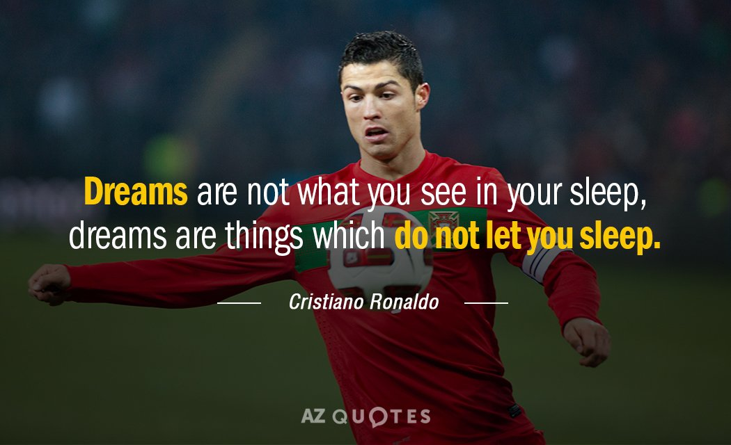 Friendship Forever Quotes Wallpaper Cristiano Ronaldo Quote Dreams Are Not What You See In