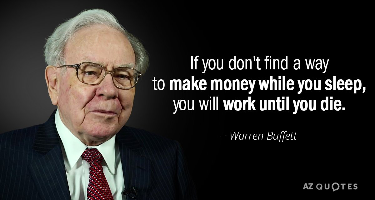 Businessman Quotes Wallpaper Warren Buffett Quote If You Don T Find A Way To Make