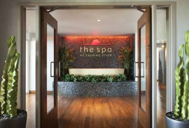 Talking Stick spa entrance
