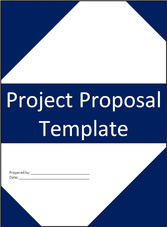 Project Proposal Template Free Printable Word Templates,