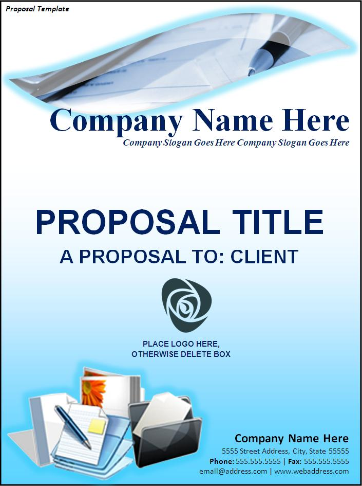 Free Proposal Template Free Printable Word Templates,