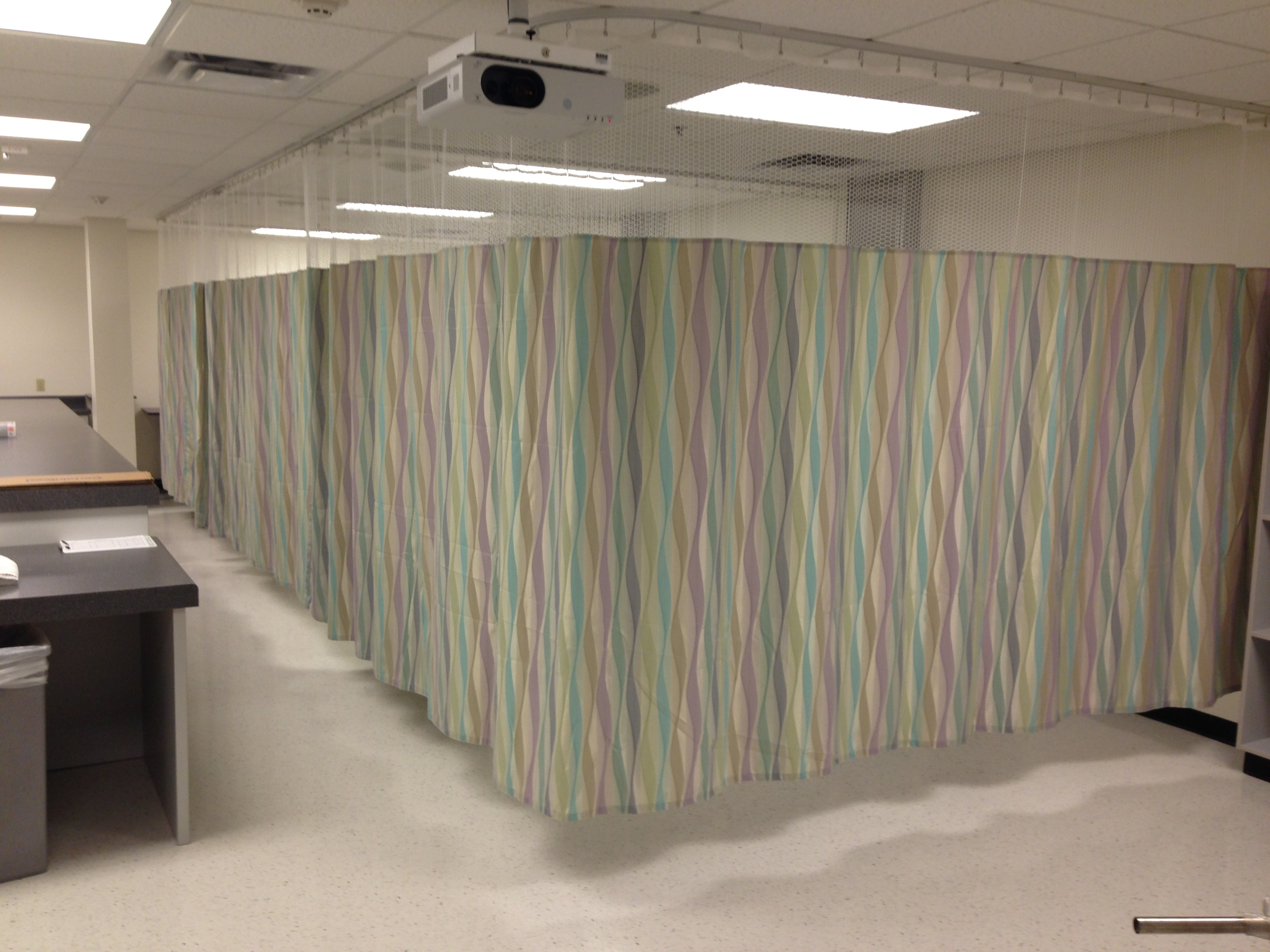 Office cubicle curtains - About Us Arizona Washroom Partitions Cubicle Track Amp Curtains Office Cubicle Curtains