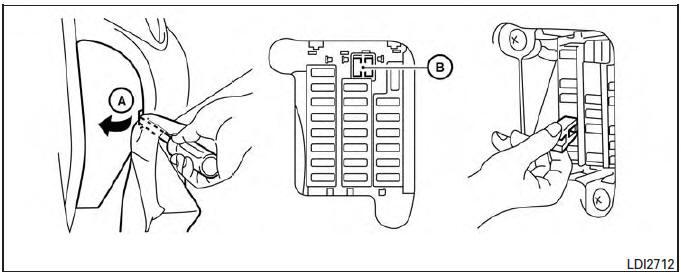 nissan micra fuse box layout