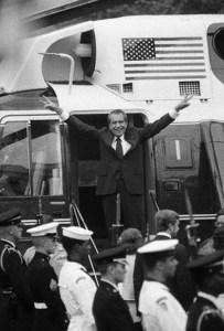 Richard Nixon Waves