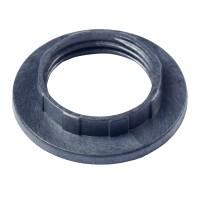 3 Black For E14 Lamp Shade Light Shade Collar Ring Adaptor ...