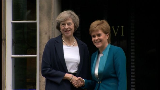 For Nicola and Theresa, The Battle Begins After The Election