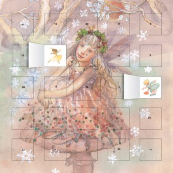 Fairy Glitter Advent with Stickers – NEW