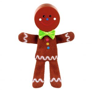Gingerbread Man Finger Puppet