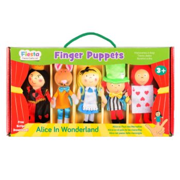 Alice in Wonderland Finger Puppet Set
