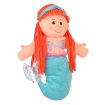 Little Mermaid Hand and Finger Puppet Set- NEW